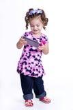 Goce de la muchacha Imagen de archivo libre de regalías