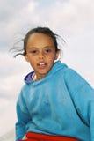 Goce del niño Fotografía de archivo