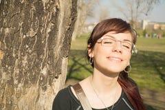 Goce del sol foto de archivo libre de regalías