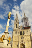 Gocka kościelna architektura Fotografia Royalty Free