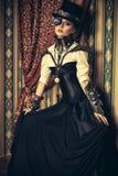 Gocka kobieta Zdjęcia Royalty Free