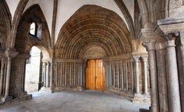 Gocki bazylika święty Procopius w Trebic, UNESCO miejsce obrazy stock