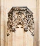 Gocki filar w StVitus cathedrale w Praga Fotografia Royalty Free