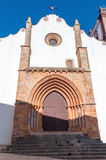 Gocki główny portal Silves katedra Obraz Stock