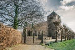 Gocki kościół z bramą Fotografia Royalty Free
