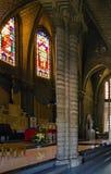 Gocki odrodzenie styl Chrystus królewiątko katedra, Nha Trang obraz royalty free