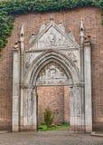 Gocki portal w Ravenna, Włochy Obraz Stock