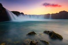 GodÂs vattenfall Royaltyfri Fotografi