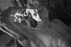 God Apollo in Greek mythology (Phoebus - in Roman mythology) Stock Images