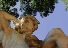 God Apollo in Greek mythology (Phoebus - in Roman mythology) Royalty Free Stock Photos