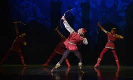 """God Archer- ballet """"One Thousand and One Nights"""" Stock Image"""