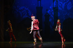 """The God Archer- ballet """"One Thousand and One Nights"""" Stock Images"""