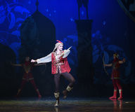 """God Archer- ballet """"One Thousand and One Nights"""" Stock Photo"""