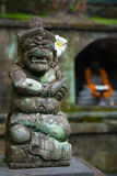 God Bali. Stone statue depicting one of the gods worshipped on the island of Bali. Indonesia in April 2014 Stock Photos
