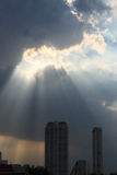 God beams Royalty Free Stock Images