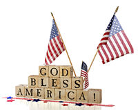 God Bless  America! Royalty Free Stock Image