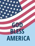 God bless America Stock Photo