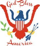 God Bless America Royalty Free Stock Image