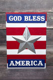 God Bless. A God bless America sign for the Fourth of July Royalty Free Stock Photography