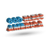 God Bless America Royalty Free Stock Photography
