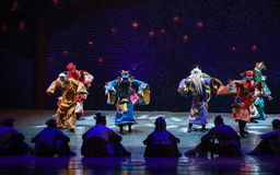 """God of blessing-Dance drama """"The Dream of Maritime Silk Road"""" Stock Photo"""