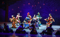 """God of blessing-Dance drama """"The Dream of Maritime Silk Road"""" Royalty Free Stock Photos"""