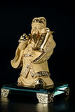God Chinese Cai Shen. Cai Shen is God of wealth or God of fortune for Chinese Royalty Free Stock Image
