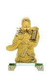 God Chinese Cai Shen. Cai Shen is God of wealth or God of fortune for Chinese Stock Images