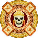 God of death of Aztecs Stock Photo