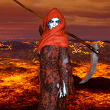 The god of death. 3D CG rendering of the god of death Stock Image
