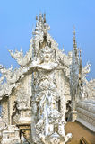 God of death statue at Rong Khun temple Stock Images