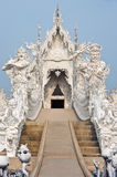 God of death statue at Rong Khun temple Stock Image