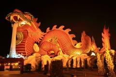 God dragon. Dragon  museum,  thailand country Stock Photo