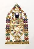 God of duality. Sculpture of venkateshwara of an indian god Royalty Free Stock Image