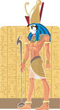 God of Egypt Gor Stock Photography
