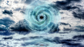 God Eye at the Sea Royalty Free Stock Image
