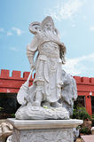 God of Fight Guan Gong Guan Yu. Royalty Free Stock Photos