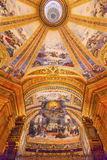 God Fresco Dome San Francisco el Grande Madrid Spain Royalty Free Stock Images