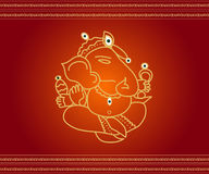 God Ganesha Royalty Free Stock Photos