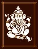 God Ganesha Stock Afbeeldingen