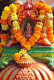 God Ganesha on the altar at Hindu temple Stock Photography