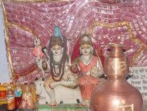 God and goddess. Shiv ji and Parvati ma Stock Images