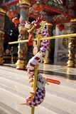 God goddess statue and decoration of San Chao Pu Ya chinese temple or great grandfather and grandmother ancestor shrine. On December 19, 2017 in Udonthani royalty free stock images