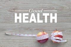 god hälsa för begrepp Sund livsstil för bakgrund royaltyfri bild