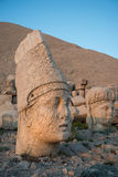 God heads on Mount Nemrut Royalty Free Stock Images