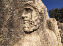 God Herakles face Stock Photos