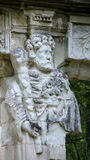 God Hermes on Caryatides  at Chateau Chenonceau Royalty Free Stock Images