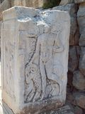 God Hermes in Ephesus Turkey Royalty Free Stock Photography