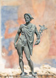 God hermes statue stock photos