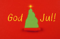 God Jul ! Stock Image